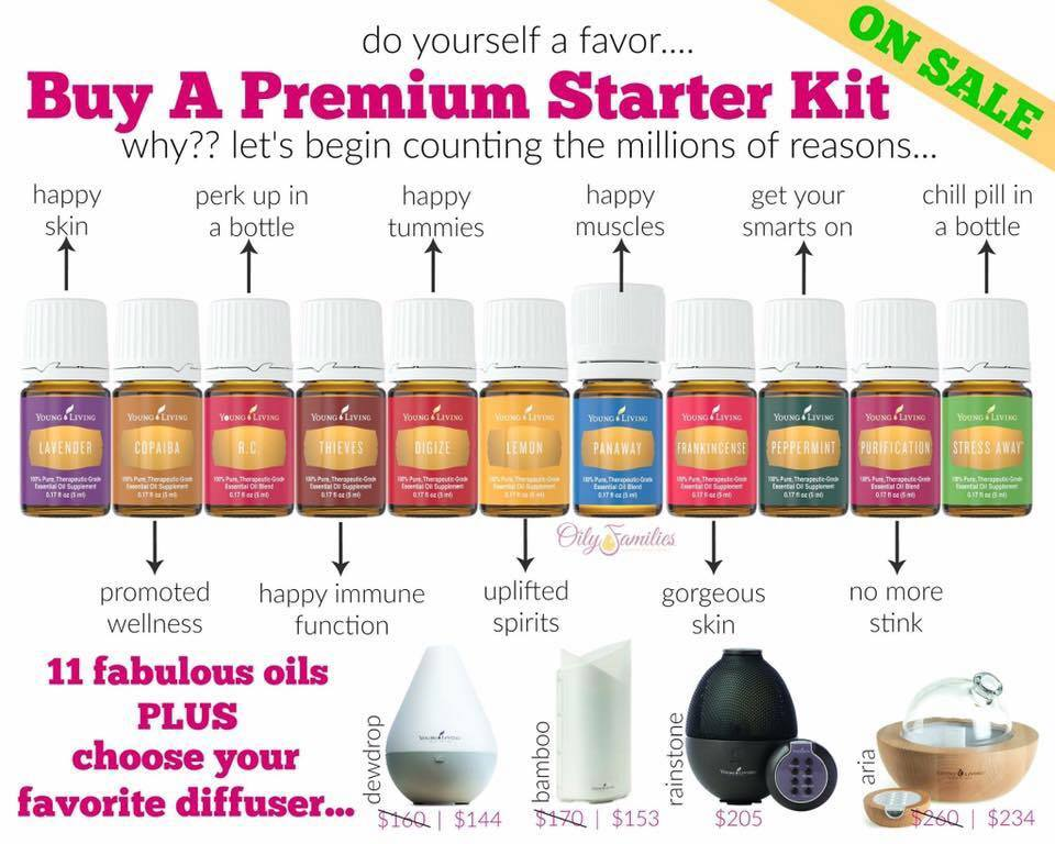 Young Living on Sale!~