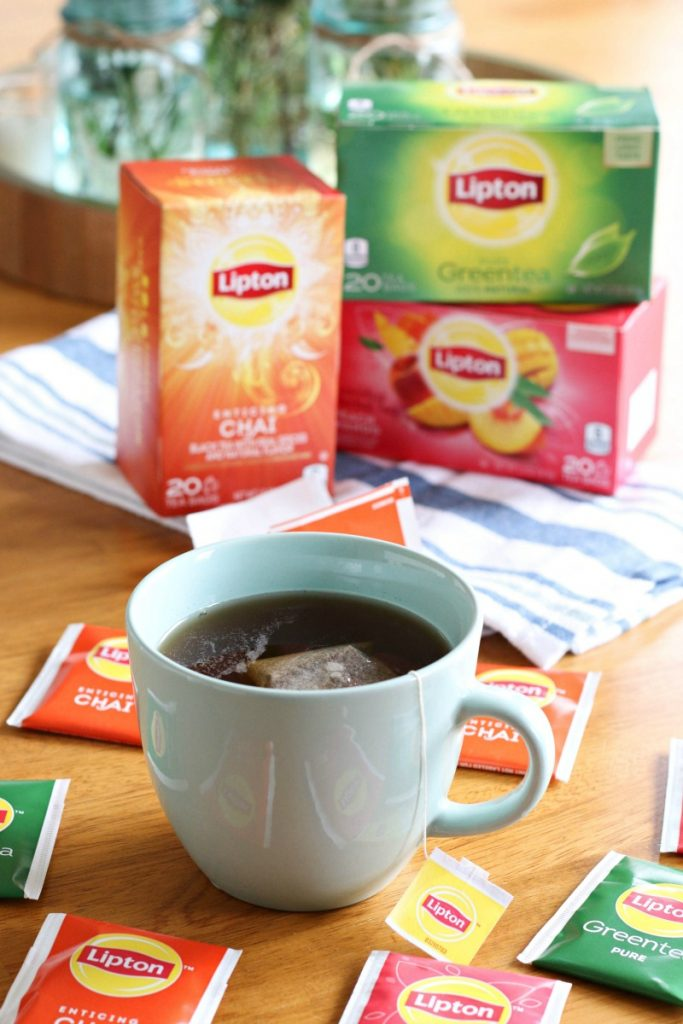If you're looking for a great way to unwind and recharge each day, try having an afternoon tea time! I have a feeling you'll really look forward to it like I do! And when you do, try the NEW Lipton Tea Flavors that are now available nationwide!