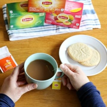 you're looking for a great way to unwind and recharge each day, try having an afternoon tea time! I have a feeling you'll really look forward to it like I do! And when you do, try the NEW Lipton Tea Flavors that are now available nationwide!
