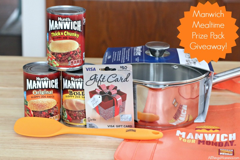 Manwich Mealtime Prize Pack Giveaway