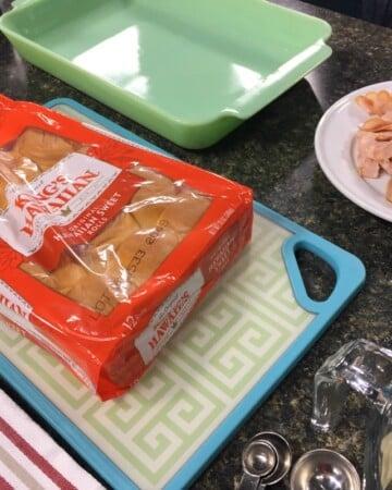 Ham and Swiss Slider Ingredients