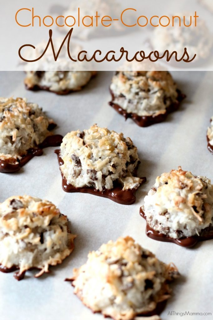 ChocolateCoconut Macaroons