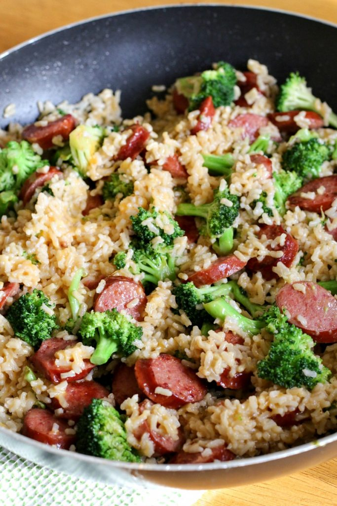 Smoked Sausage Amp Rice One Skillet Dinner