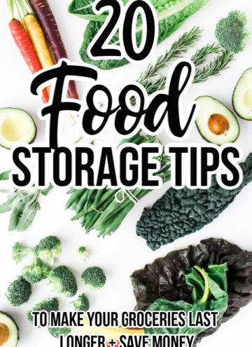 20 Food Storage Tips for Your Groceries and Leftovers You Must Try!