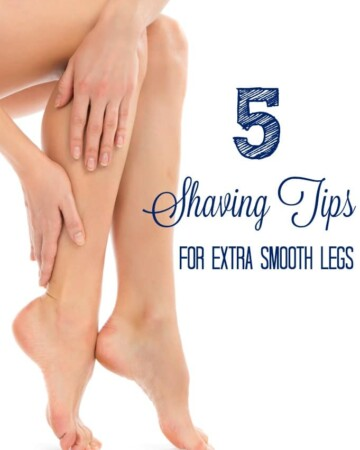 The BEST Shaving Tips for Extra Smooth Legs - everytime!