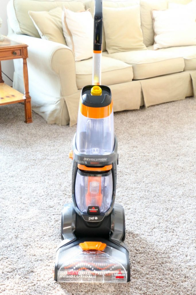 For those times I have to get my carpets extra clean, I grab my Bissell ProHeat 2X Revolution Pet Upright Cleaner and whichever cleaner is best for the job!