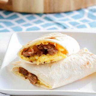 Make Ahead Freezer Burritos