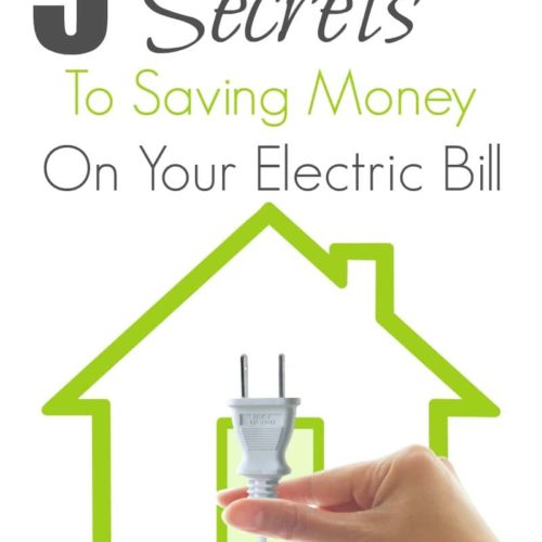 Saving money on your electric bill is easy when you know a few simple steps! From a home audit to choosing an energy supplier, there's easy ways to save money everyday. Check out these 5 Secrets to Saving Money On your Electric Bill to having a more energy efficient home and saving money in no time!