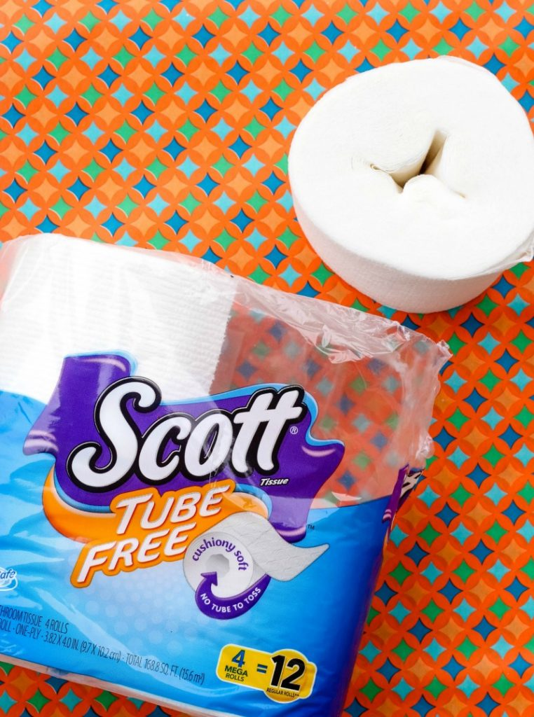 """Have you started making small changes in your household that have a big impact on the environment? If you said, """"YES"""", then great! If not...then I have a simple tip for you today that will make a HUGE impact on the world we live in AND it couldn't be easier - Scott Tube Free Toilet Paper!"""