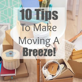 The task of moving can be daunting, but with a little planning and organization, you can tackle it with ease! These 10 Moving Tips to Make Make Moving Easy can help you!
