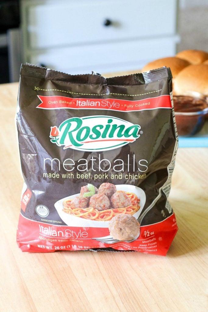 Rosina-meatballs