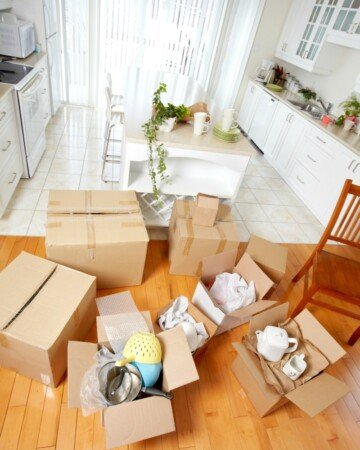 Moving is a big job! Save time and money with these 5 Moving Hacks That Will Make Life Easier and save you time and money in the long run!