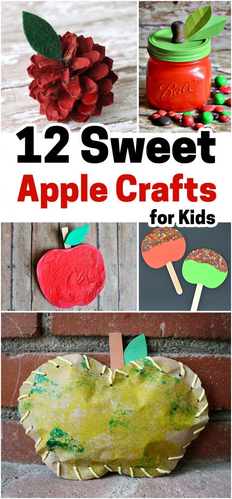 apple crafts, apples, crafts for kids, fall crafts, crafts