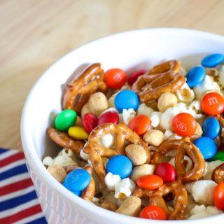 Sweet & Salty Snack Mix Recipe