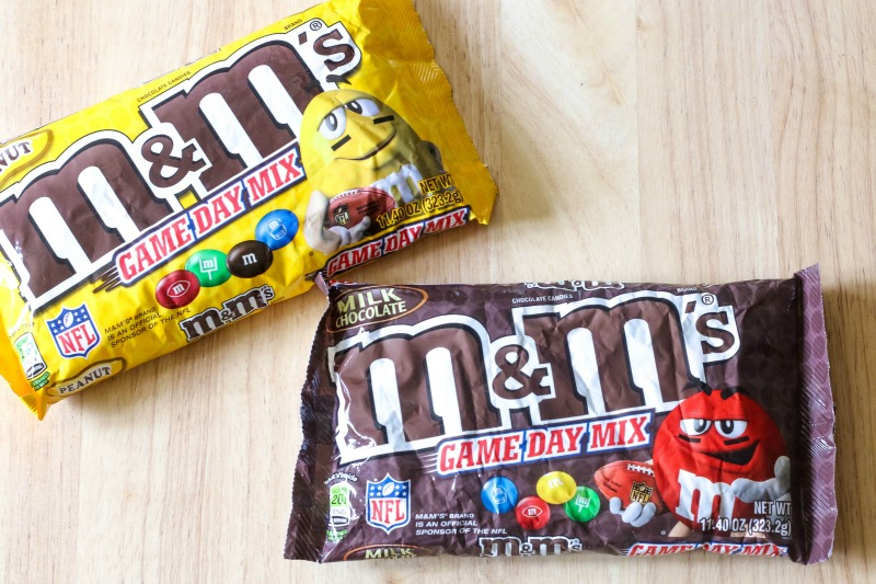 Game Day Mix M&M's