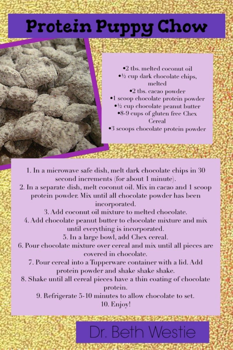 Protein Puppy Chow - my kids will love this one!!!