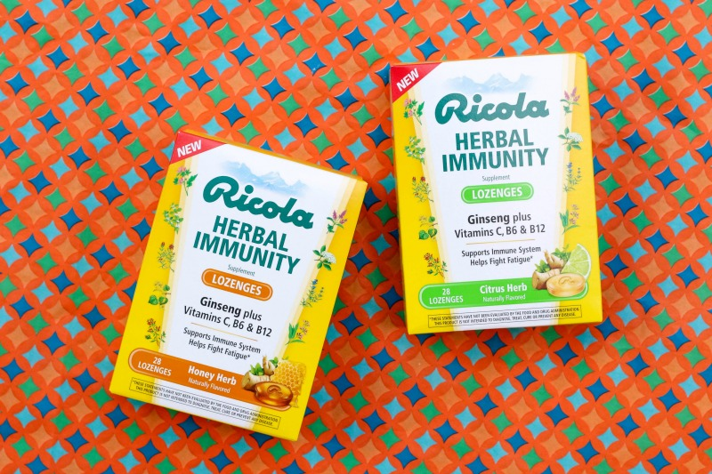 get in enough Vitamin B6 and Vitamin B12 is through an Immunity Product such as Ricola Herbal Immunity Lozenges!