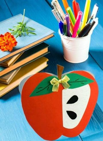 12 Sweet Apple Crafts For Kids