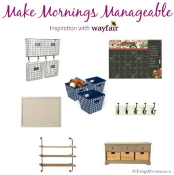 Back to school is right around the corner - even some of us have already started back! It's time to get your home in order and organized to make mornings more manageable.