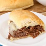 Mississippi Roast Sandwiches are the perfect slow cooker recipe that is easy and delicious!