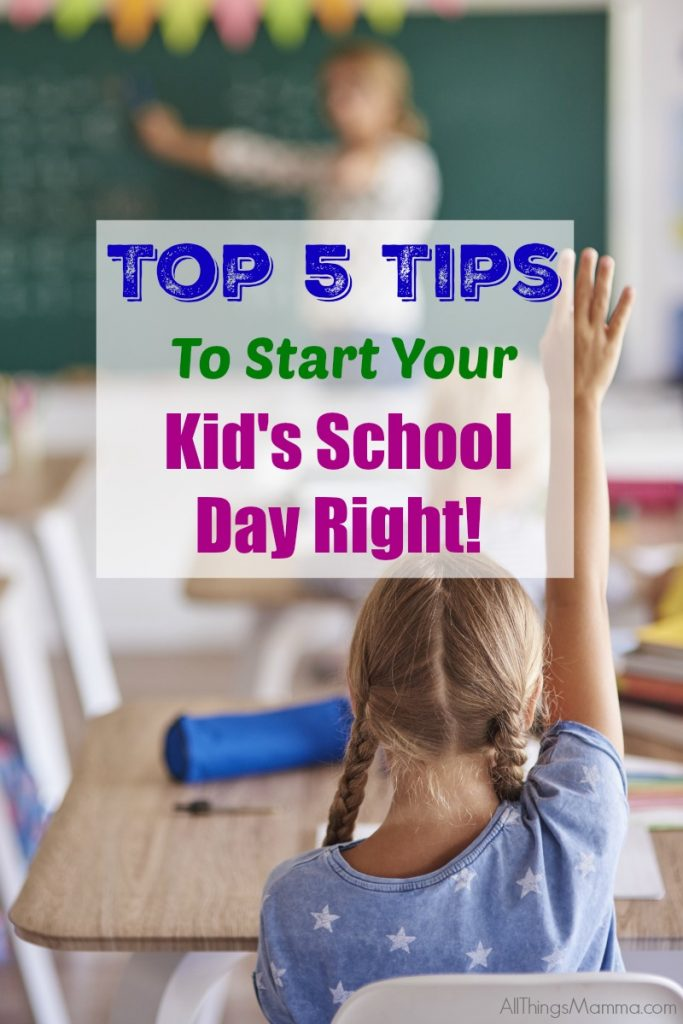 5 Back To School Tips To Start Your Kid's Day Right