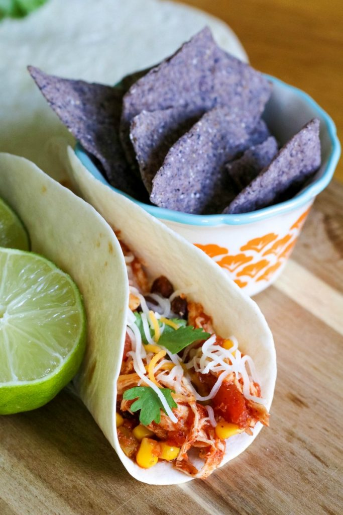 If you're looking for a quick and easy meal, try this amazing Slow Cooker Salsa Chicken for a meal the whole family will love!