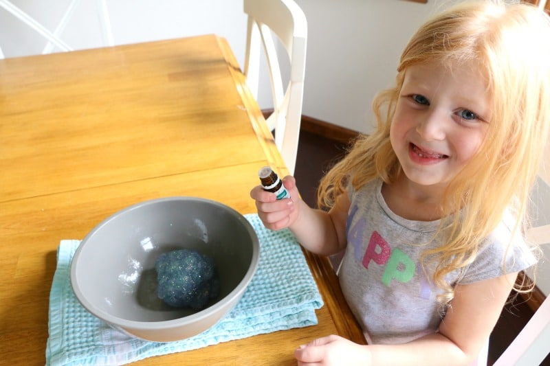 This easy and super fun, 3-ingredient, How To Make Glitter Slime tutorial will quickly become a favorite activity in your house!