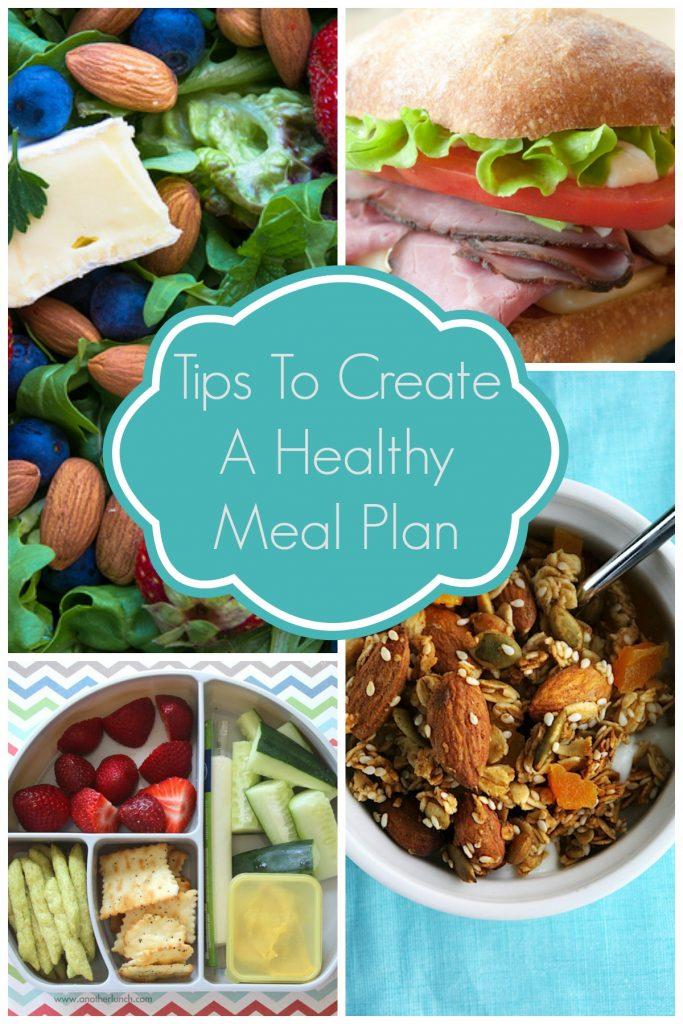 Create A Heathy Meal Plan