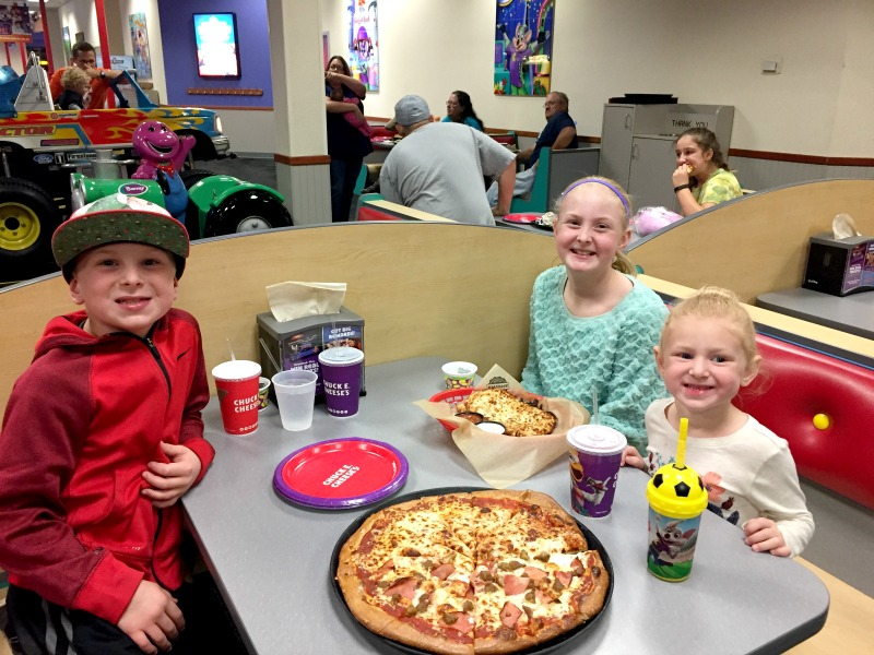 Chuck E. Cheese's will be offering one free personal pizza to all active and retired military members at participating stores nationwide!