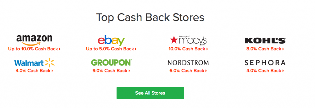 Earn CASH BACK for shopping with Ebates!
