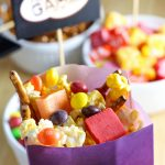 Get ready for the big game with this DIY Quick and Easy Game Day Snack Mix that is sure to please any crowd!