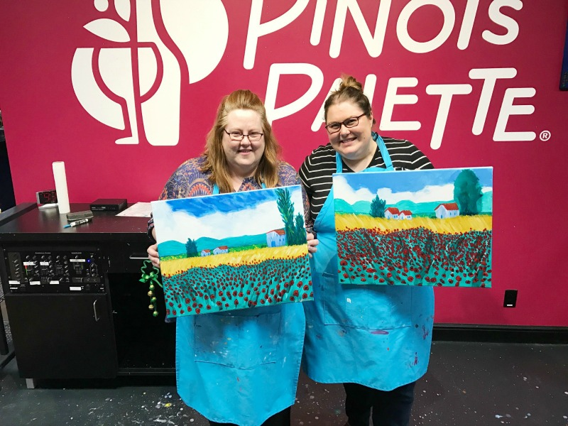 Pinot's Palette – Disconnect to Reconnect
