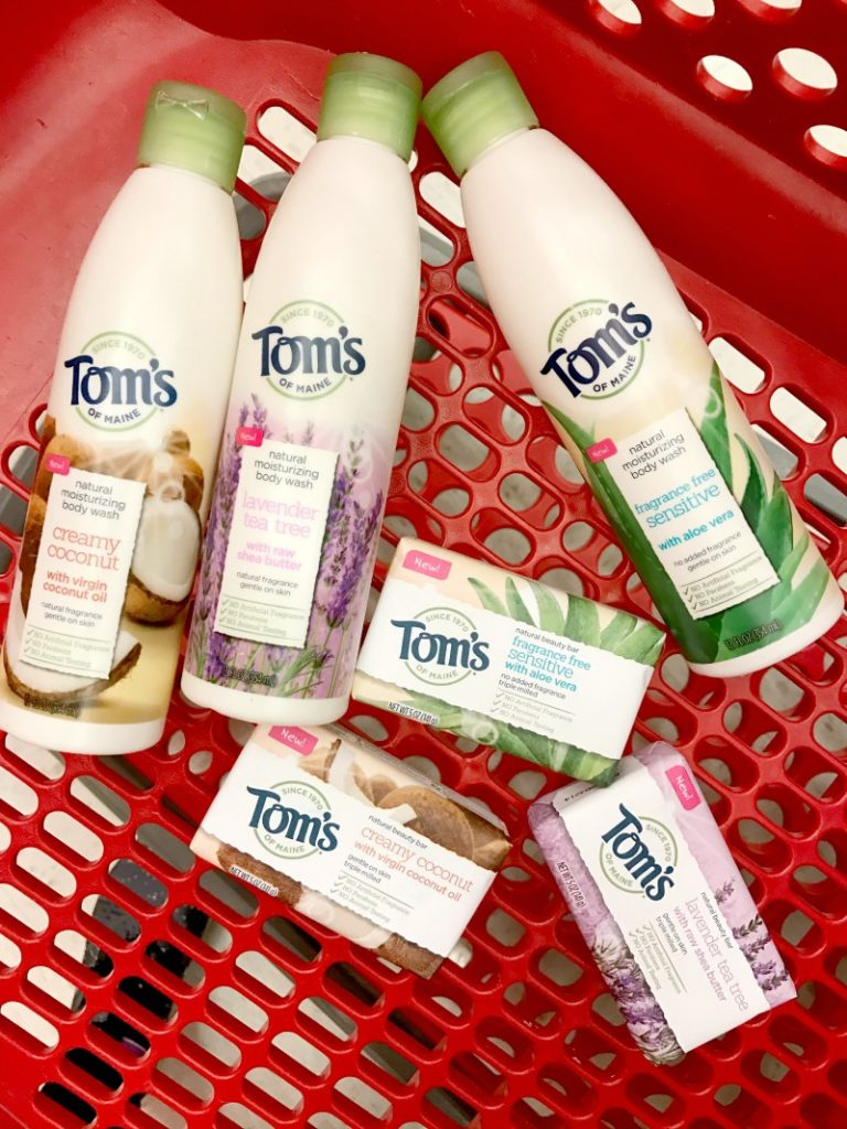 Tom's of Maine is launching a new line of Natural Body Wash and bar soap products in 300 Target stores.