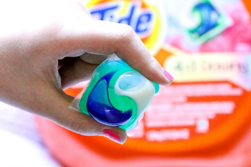 Tide PODS® Plus Downy laundry detergent pacs offer the Tide clean you love, now with Downy Fabric Protect.