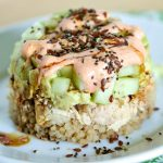 Spicy Tuna Quinoa Stacks