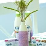 How To Make An Upcycled Flower Vase