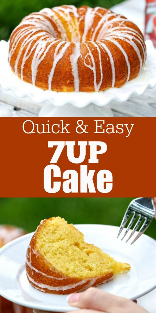 This moist and flavorful 7UP Cake recipe is always a hit! Try it out the next time you need an easy and delicious cake recipe!