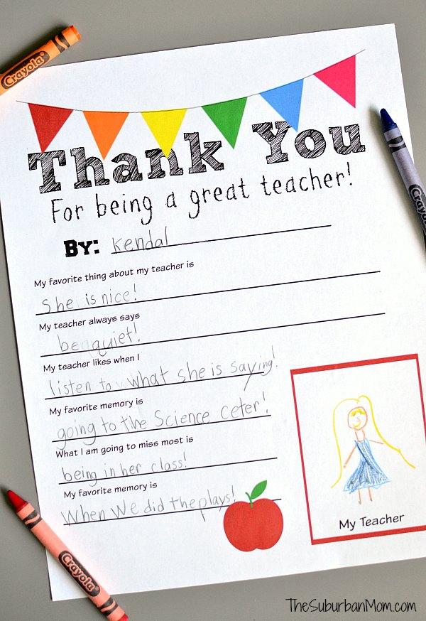 10 DIY Teacher Appreciation Gift Ideas