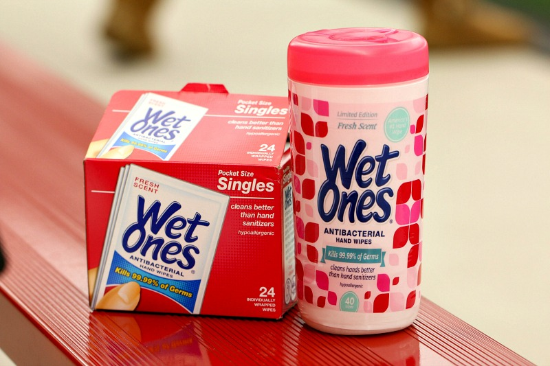 20 Messes that are NO MATCH for Wet Ones Hand Wipes
