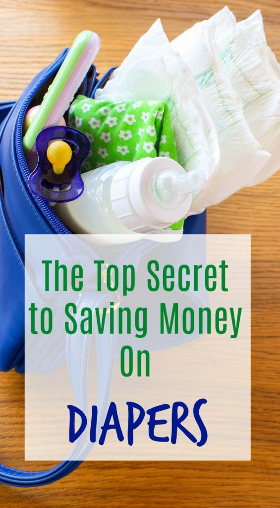 Save Money on Diapers With This Secret!