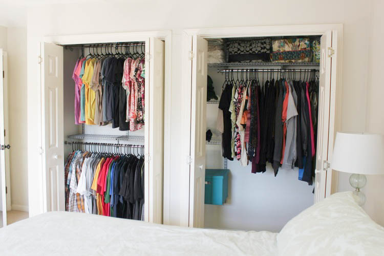 Much Better Than The Cardboard Boxes I Did Have My Things In. I Love The  Pop Of Color They Give The Closet!