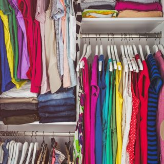 The Secret To Conquering Closet Clutter