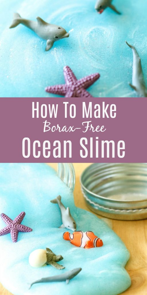 How To Make Ocean Slime