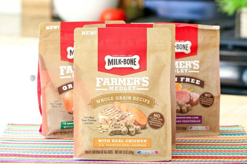 NEW Milk-Bone Farmer's Medley