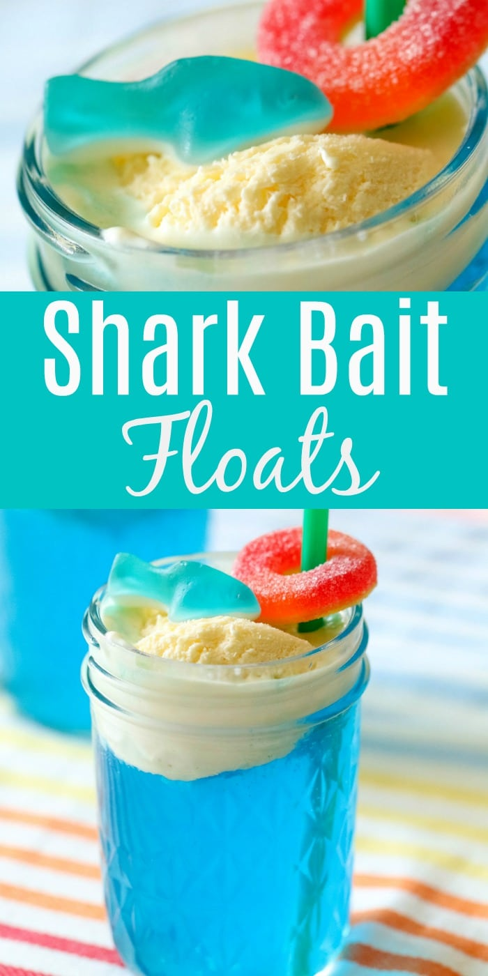 how to make shark bait ice cream floats