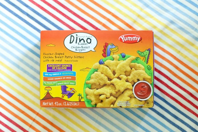 Dinner Quick with Yummy Dino Buddies