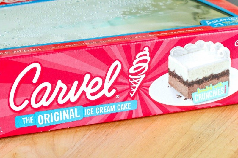How To Put An Image On A Carvel Cake