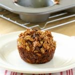 Banana Chocolate Granola Muffins