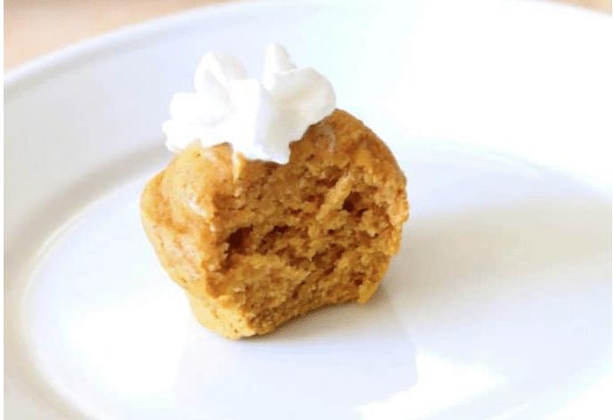 Two-Ingredient Pumpkin Spice Muffins
