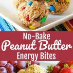No-Bake Peanut Butter Energy Bites